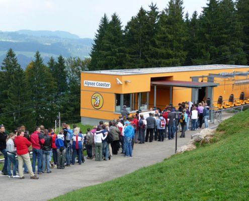 Abfahrt-Alpseecoaster