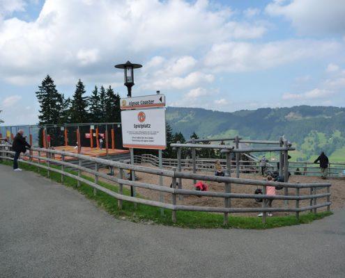 Spielplatz-Berg