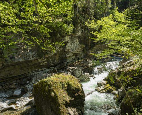 Breitachklamm bei Tiefenbach