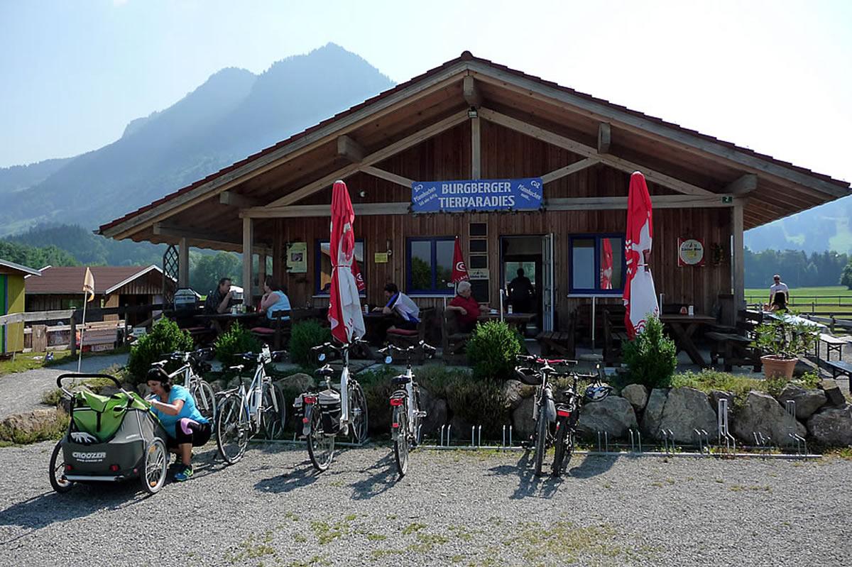 Tierparadies-Burgberg