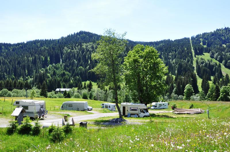 Campingstellplatz
