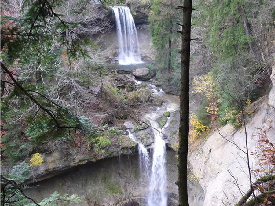 Doppelwasserfall