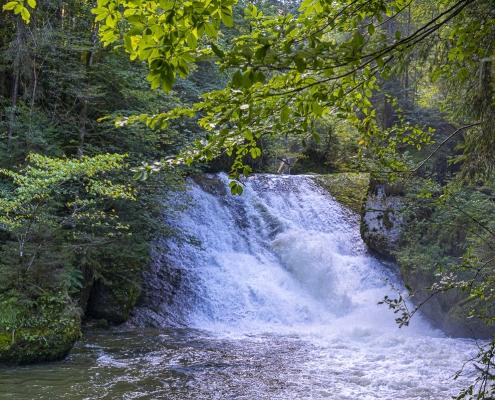 Wasserfälle bei Isny