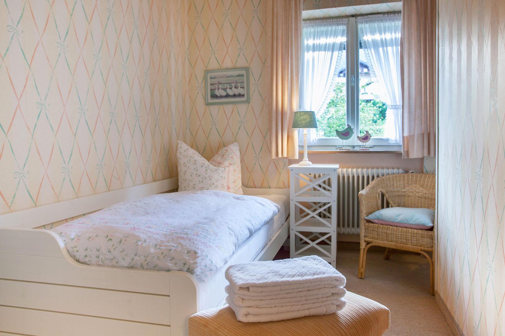 Zweites Schlafzimmer in Ferienwohnung