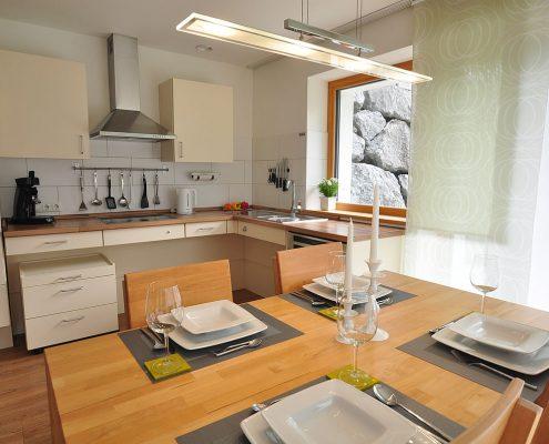 Küche-Ferienwohnung