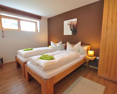 Einzelbetten-Ferienwohnung