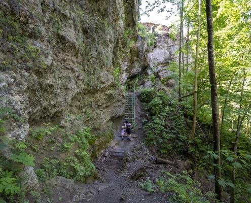 Wanderweg Wasserfall