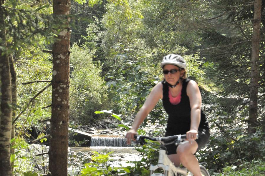 Fahrradtour in die Spielmannsau