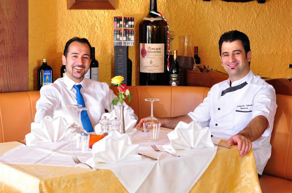 Italienisches Restaurant Salerno in Fischen