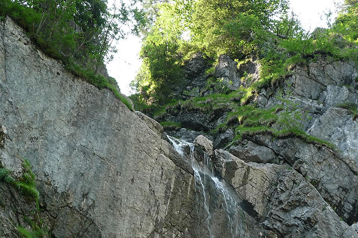 Scheuenwasserfall-Balderschwang