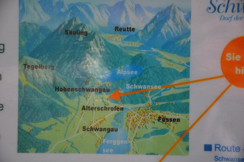 Lagekarte-Schwansee